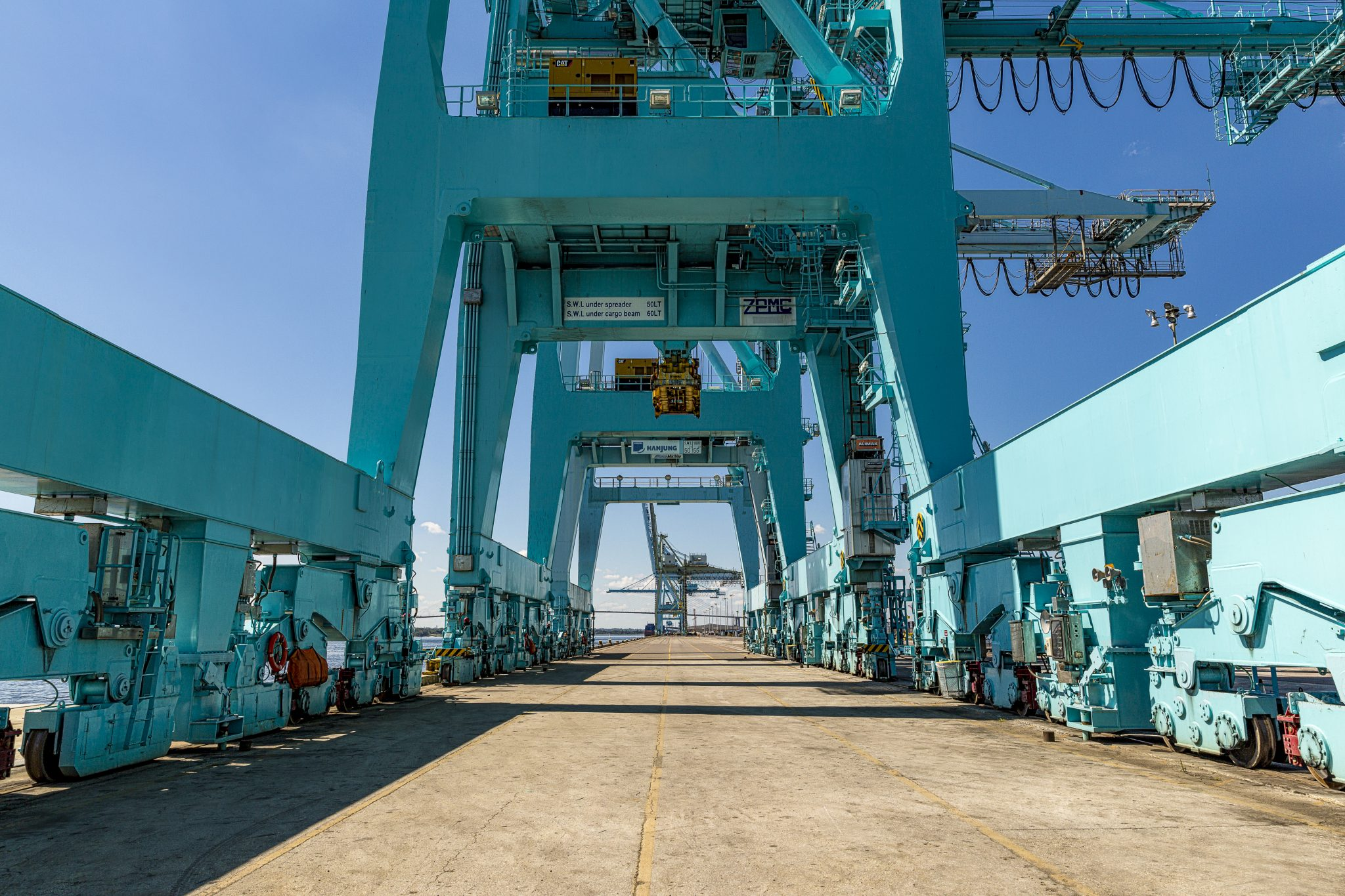 The port of Jacksonville, on assignment for JAXPORT.